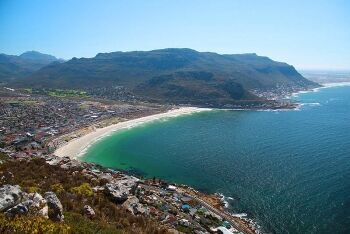 Fish Hoek from Elsie\'s Peak, Cape Town\'s South Peninsula